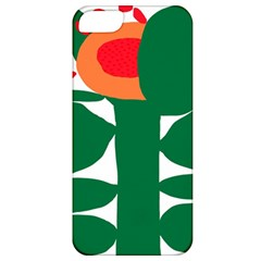 Portraits Plants Sunflower Green Orange Flower Apple Iphone 5 Classic Hardshell Case by Mariart