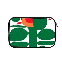 Portraits Plants Sunflower Green Orange Flower Apple Macbook Pro 13  Zipper Case by Mariart