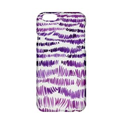 Original Feather Opaque Color Purple Apple Iphone 6/6s Hardshell Case by Mariart
