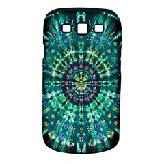 Peacock Throne Flower Green Tie Dye Kaleidoscope Opaque Color Samsung Galaxy S Iii Classic Hardshell Case (pc+silicone) by Mariart