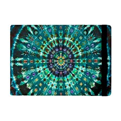 Peacock Throne Flower Green Tie Dye Kaleidoscope Opaque Color Ipad Mini 2 Flip Cases by Mariart