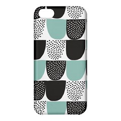 Sugar Blue Fabric Polka Dots Circle Apple Iphone 5c Hardshell Case by Mariart