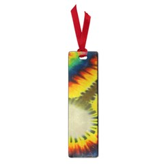 Red Blue Yellow Green Medium Rainbow Tie Dye Kaleidoscope Opaque Color Small Book Marks by Mariart