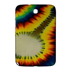 Red Blue Yellow Green Medium Rainbow Tie Dye Kaleidoscope Opaque Color Samsung Galaxy Note 8 0 N5100 Hardshell Case  by Mariart