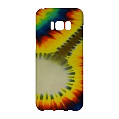 Red Blue Yellow Green Medium Rainbow Tie Dye Kaleidoscope Opaque Color Samsung Galaxy S8 Hardshell Case  by Mariart