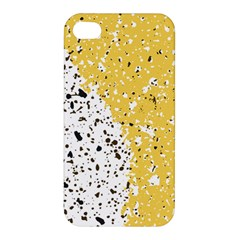 Spot Polka Dots Orange Black Apple Iphone 4/4s Premium Hardshell Case by Mariart