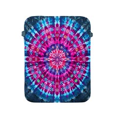 Red Blue Tie Dye Kaleidoscope Opaque Color Circle Apple Ipad 2/3/4 Protective Soft Cases by Mariart