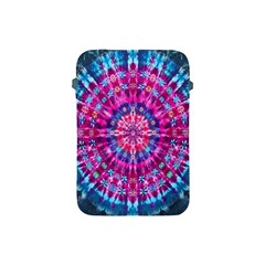 Red Blue Tie Dye Kaleidoscope Opaque Color Circle Apple Ipad Mini Protective Soft Cases by Mariart
