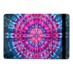 Red Blue Tie Dye Kaleidoscope Opaque Color Circle Samsung Galaxy Tab Pro 10 1  Flip Case by Mariart