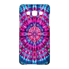 Red Blue Tie Dye Kaleidoscope Opaque Color Circle Samsung Galaxy A5 Hardshell Case  by Mariart