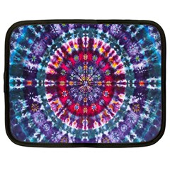 Red Purple Tie Dye Kaleidoscope Opaque Color Netbook Case (xxl)  by Mariart