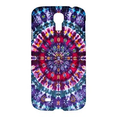 Red Purple Tie Dye Kaleidoscope Opaque Color Samsung Galaxy S4 I9500/i9505 Hardshell Case by Mariart