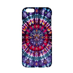 Red Purple Tie Dye Kaleidoscope Opaque Color Apple Iphone 6/6s Hardshell Case by Mariart