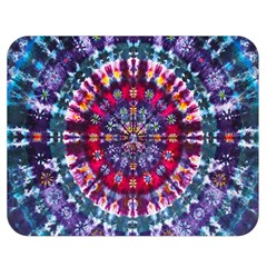Red Purple Tie Dye Kaleidoscope Opaque Color Double Sided Flano Blanket (medium)  by Mariart