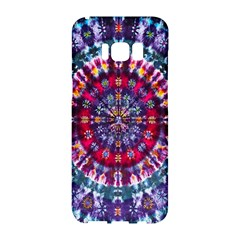 Red Purple Tie Dye Kaleidoscope Opaque Color Samsung Galaxy S8 Hardshell Case  by Mariart