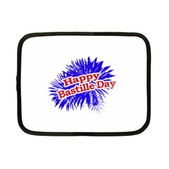 Happy Bastille Day Graphic Logo Netbook Case (small)  by dflcprints