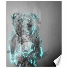 Dog Canvas 8  X 10  by NSAsStore