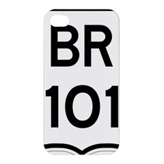 Brazil Br 101 Transcoastal Highway  Apple Iphone 4/4s Premium Hardshell Case by abbeyz71