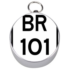 Brazil Br 101 Transcoastal Highway  Silver Compasses by abbeyz71