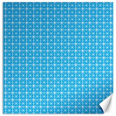 Simple Rectangular Pattern Canvas 16  X 16   by berwies