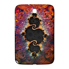 The Eye Of Julia, A Rainbow Fractal Paint Swirl Samsung Galaxy Note 8 0 N5100 Hardshell Case  by jayaprime
