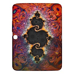 The Eye Of Julia, A Rainbow Fractal Paint Swirl Samsung Galaxy Tab 3 (10 1 ) P5200 Hardshell Case  by jayaprime