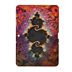 The Eye Of Julia, A Rainbow Fractal Paint Swirl Samsung Galaxy Tab 2 (10 1 ) P5100 Hardshell Case  by jayaprime