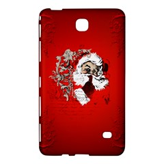 Funny Santa Claus  On Red Background Samsung Galaxy Tab 4 (8 ) Hardshell Case  by FantasyWorld7