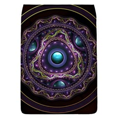 Beautiful Turquoise And Amethyst Fractal Jewelry Flap Covers (s)  by jayaprime