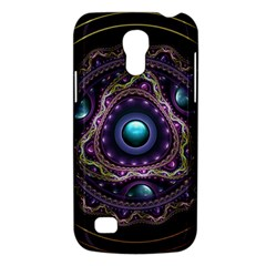 Beautiful Turquoise And Amethyst Fractal Jewelry Galaxy S4 Mini by jayaprime
