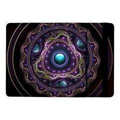 Beautiful Turquoise And Amethyst Fractal Jewelry Samsung Galaxy Tab Pro 10 1  Flip Case