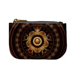 Gathering The Five Fractal Colors Of Magic Mini Coin Purses by jayaprime