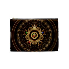 Gathering The Five Fractal Colors Of Magic Cosmetic Bag (medium)  by jayaprime