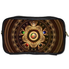 Gathering The Five Fractal Colors Of Magic Toiletries Bags by jayaprime