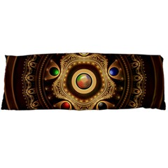 Gathering The Five Fractal Colors Of Magic Body Pillow Case (dakimakura) by jayaprime