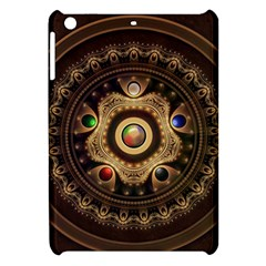 Gathering The Five Fractal Colors Of Magic Apple Ipad Mini Hardshell Case by jayaprime