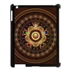 Gathering The Five Fractal Colors Of Magic Apple Ipad 3/4 Case (black) by jayaprime