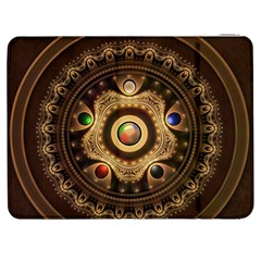 Gathering The Five Fractal Colors Of Magic Samsung Galaxy Tab 7  P1000 Flip Case by jayaprime