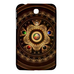 Gathering The Five Fractal Colors Of Magic Samsung Galaxy Tab 3 (7 ) P3200 Hardshell Case  by jayaprime