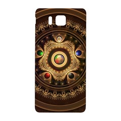 Gathering The Five Fractal Colors Of Magic Samsung Galaxy Alpha Hardshell Back Case by jayaprime