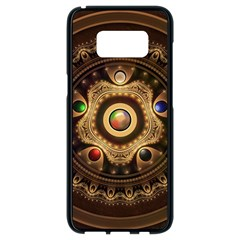 Gathering The Five Fractal Colors Of Magic Samsung Galaxy S8 Black Seamless Case by jayaprime