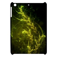 Beautiful Emerald Fairy Ferns In A Fractal Forest Apple Ipad Mini Hardshell Case by jayaprime