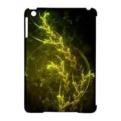 Beautiful Emerald Fairy Ferns In A Fractal Forest Apple Ipad Mini Hardshell Case (compatible With Smart Cover) by jayaprime