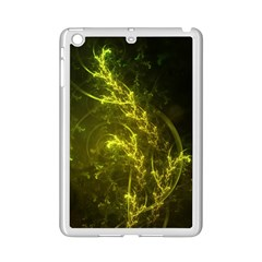 Beautiful Emerald Fairy Ferns In A Fractal Forest Ipad Mini 2 Enamel Coated Cases by jayaprime