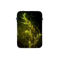 Beautiful Emerald Fairy Ferns In A Fractal Forest Apple Ipad Mini Protective Soft Cases by jayaprime