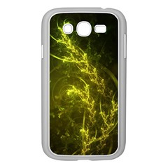 Beautiful Emerald Fairy Ferns In A Fractal Forest Samsung Galaxy Grand Duos I9082 Case (white) by jayaprime