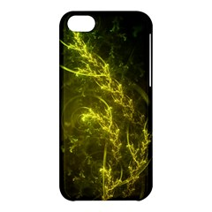 Beautiful Emerald Fairy Ferns In A Fractal Forest Apple Iphone 5c Hardshell Case by jayaprime