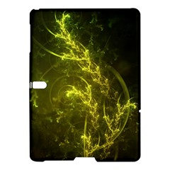 Beautiful Emerald Fairy Ferns In A Fractal Forest Samsung Galaxy Tab S (10 5 ) Hardshell Case  by jayaprime