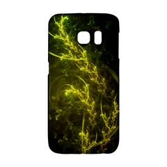 Beautiful Emerald Fairy Ferns In A Fractal Forest Galaxy S6 Edge by jayaprime