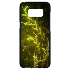 Beautiful Emerald Fairy Ferns In A Fractal Forest Samsung Galaxy S8 Black Seamless Case by jayaprime